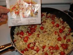 Sauteed Cauliflower & Grape Tomatoes: