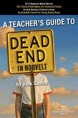 Dead End in Norvelt by Jack Gantos is the winner of the 2012 Newbery Medal and the Scott O'Dell Award for Historical Fiction. #midleved #libchat #literature #NewDeal