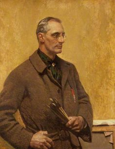 Harold Knight c.1923 by Harold Knight (British 1874-1961) Knight was the husband of the painter Dame Laura Knight...