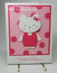 Hello Kitty card idea