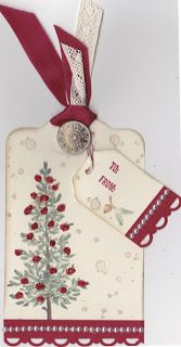 By Carole Parsons, Stampin' Up! Demonstrator