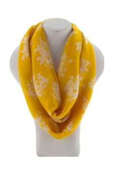 Milla Infinity Scarf in Sunshine