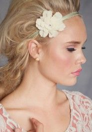 """""""Dulcet"""" single flower indie headband by Twig & Sparrow available at Ruche!  Hurry, only 4 left!"""