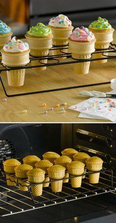 Cupcake cone rack