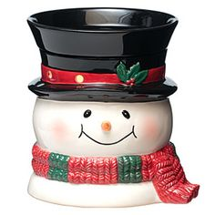 Holiday Scentsy warmer - too cute!