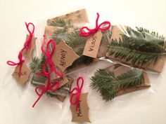 Another way to wrap gift cards for Christmas.