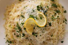 Lemon Capellini Pasta