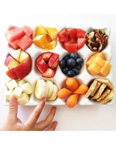 Go Raw - food tray