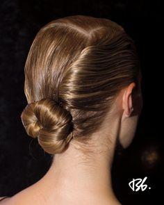 Spring/Summer Fashion Week. Hair by Bb. Stylist Jordan M. #fashionweek #fashion #hair #bumbleandbumble #bun #style