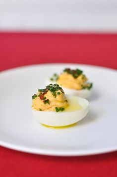 the Spotted Pig's deviled eggs