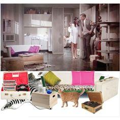 "Holly Golightly's Room""Breakfast at Tiffany's"""