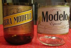 Modelo Beer Bottle now recycled into a candle. I by CandlesByOC, $10.00