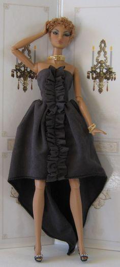 Black Fashion Dolls   THE FASHION DOLL REVIEW: OOAK Fashion Doll Series: Back To Black ...