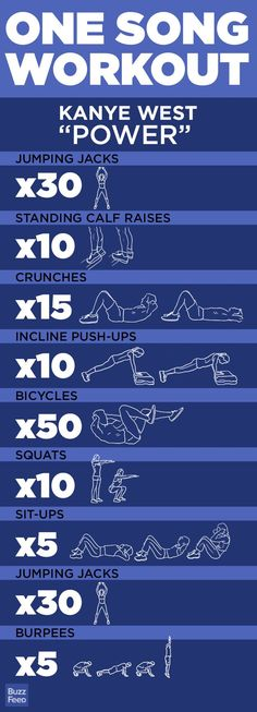 Great Training Idea - One-Song Workouts