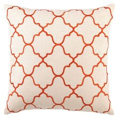 I pinned this Tangier Pillow in Orange from the D.L. Rhein event at Joss and Main!