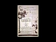 "On Our Way To Mars - Jerry Wallace and Cora Rice - from the movie 'Corn's-A-Poppin' - YouTube. ""...we'll have a grilled cheese sandwich on the moon..."" 1955"