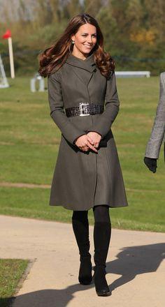 Kate duchess of cambridge, boot, prince william, royal weddings, kate middleton, duchess kate, coat, curly hair, belts