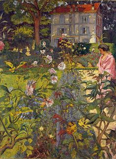 Édouard Vuillard    Garden at Vaucresson    1920