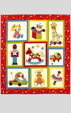 Kids Quilts - Ye Olde Toy Shop