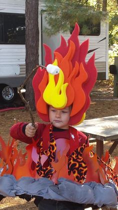 My kid wanted to be a campfire - Imgur