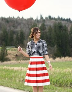 The Awning Skirt :: Red from Corilynn