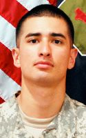 Army Pfc. Jesus J. Lopez, 22, of San Bernardino, Calif., assigned to 1st Battalion, 28th Infantry Regiment, 4th Infantry Brigade Combat Team, 1st Infantry Division, Fort Riley, Kan.; died Aug. 1 in Paktika province, Afghanistan, of wounds caused by an enemy improvised explosive device.