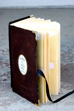Library Card Wedding Guest Book Vintage Wedding Guest Book
