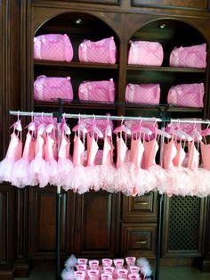Ballerina Birthday Party - omg...click for so many cute ideas <3