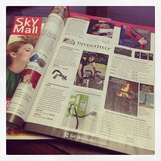 Have you seen us in the @SkyMall, Inc. Holiday Issue yet?? Happy holiday travels! #SkyMall #Magazine #Holiday #Gifts #Inventions #Gadgets (Read more: http://www.inventhelp.com/inventhelp-news-events.aspx?id=10#.UqYbK9JDt8E)