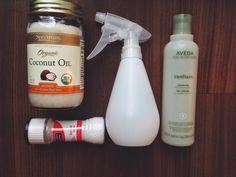 hair spray, sea salt, salt hair