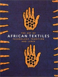African textile print book cover
