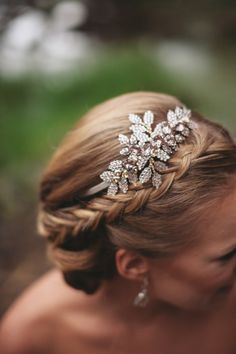 Crown-braided chigno