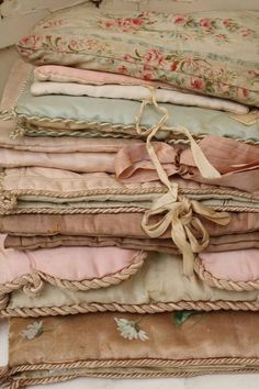 stacks of fabric cause me to swoon