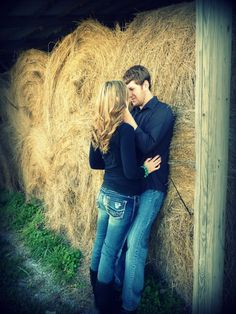 #country #love #engagement #picture #couple #happy #cute #farm