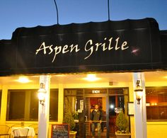 Front entrance of the Aspen Grille in Myrtle Beach, SC.