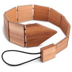 wooden neckti, hammach schlemmer