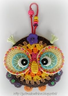 Just made with love by Antoinette: Owl and owlet .........