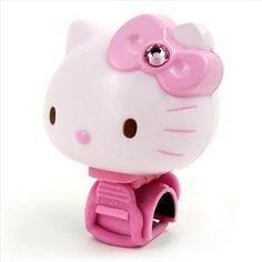 Hello Kitty bike bell.