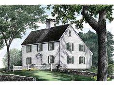 saltbox house squar, home plans, house floor plans, dream homes, hous plan, bathrooms, old houses, saltbox houses, house plans