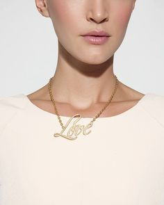 L Is For Love Necklace by JewelMint.com, $29.99