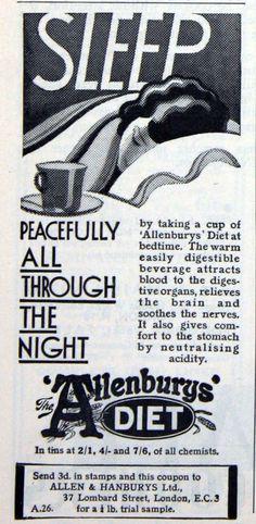 SLEEP! Vintage advertisement for sleep meds.