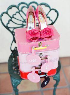#MaidsMonday Pomegranate Wedding #Heels