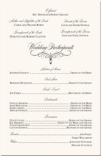 Catholic Church Wedding Ceremony Program Wording. Wedding Ceremony ...