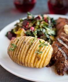 #Recipe: How To Make Hasselback Potatoes