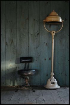 oswald's mill // doctor's chair and lamp