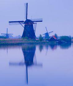 Kinderdijk,  South Holland,  Netherlands