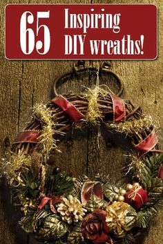 Stunning wreaths you can make on your own!