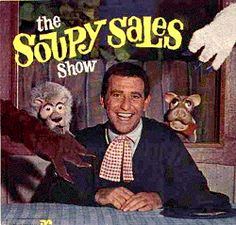 Lunch with Soupy, White Fang, Black Tooth and Pooky.  Loved me some Soupy Sales