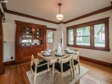 Alberta Arts Craftsman Bungalow In Prime Location. natural woodwork, new remodeled kitchen, gorgeous wood floors, new SES lighting, fireplace, studio, new interior / ext paint + new sewer, new radon mitigation system, new furnace and more. front porch welcomes urban connections. $430K already pending.