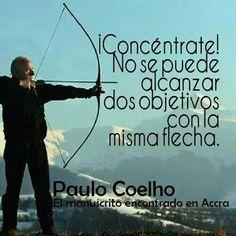 No se puede alcanzar dos objetivos con la misma flecha.